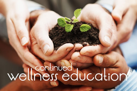 Continued Wellness Education Programs